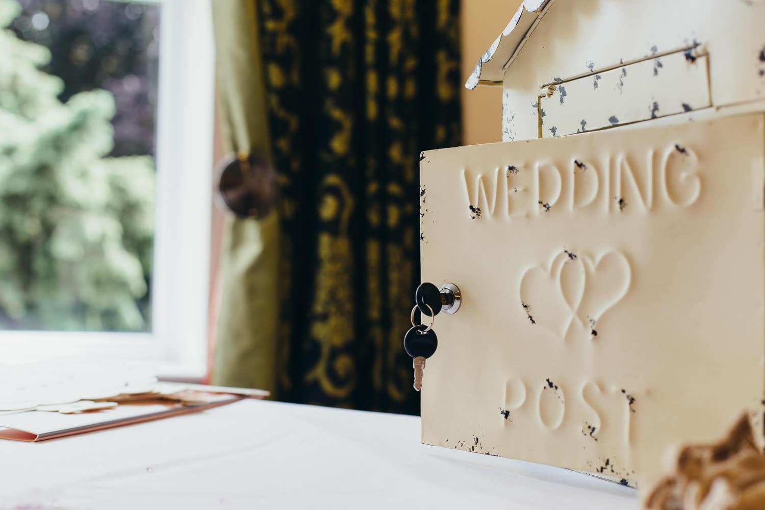wedding day post box