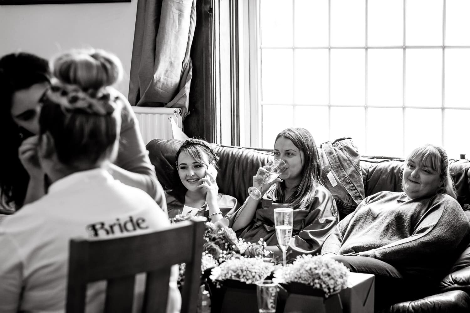 brides prepares for her big day by chapter one photography