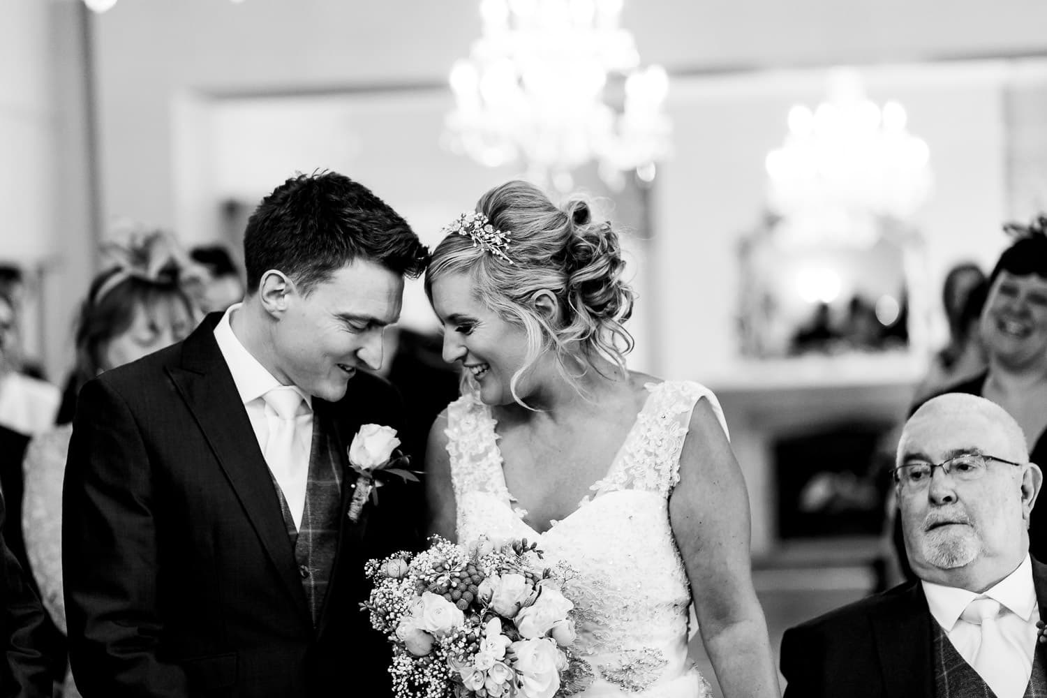 Ashton Lodge Country House wedding couple in love