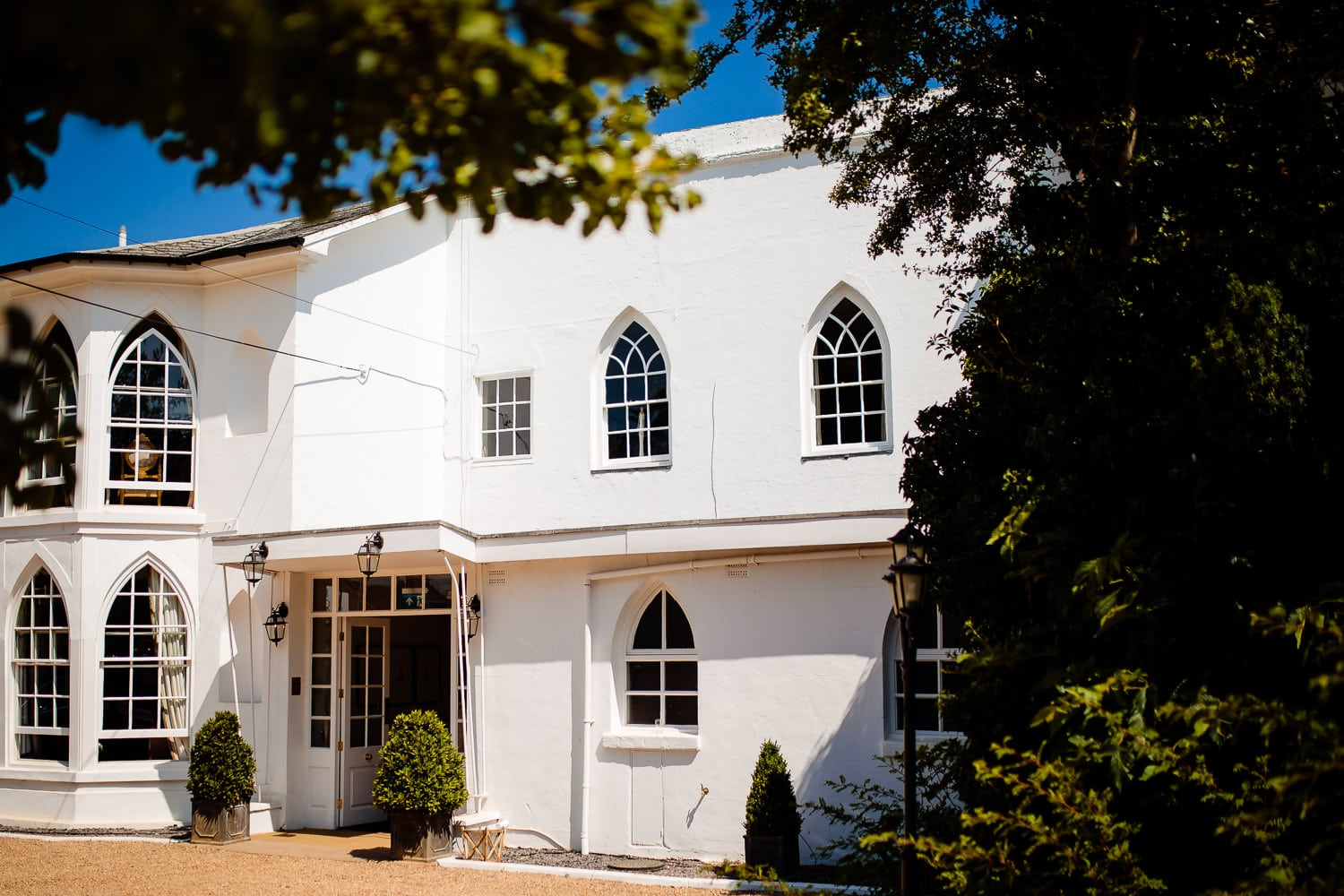 Warwick House Wedding Photography captures warwick house exterior
