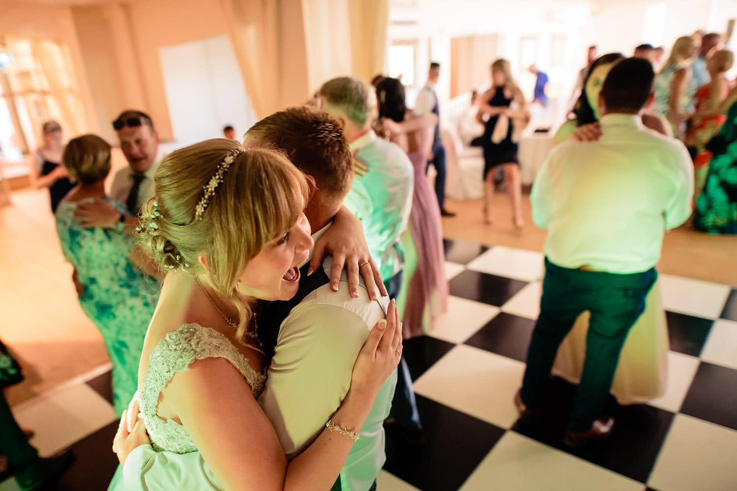 Wedding first dance by Warwick House Wedding Photography
