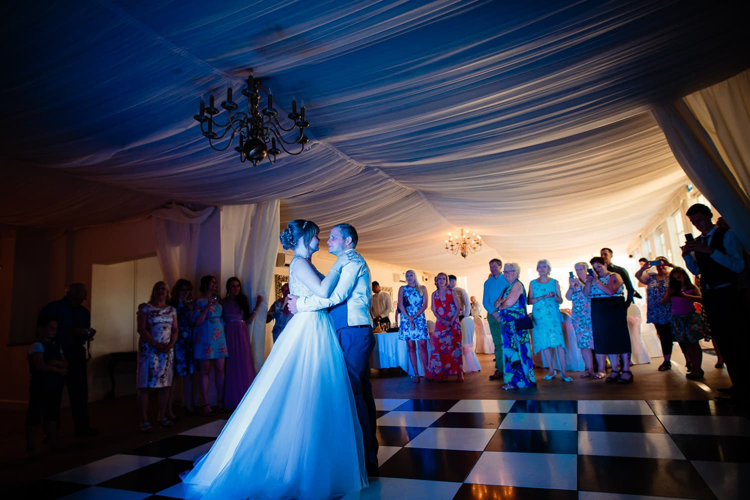 Warwick House Wedding Photography captures first dance in Southam