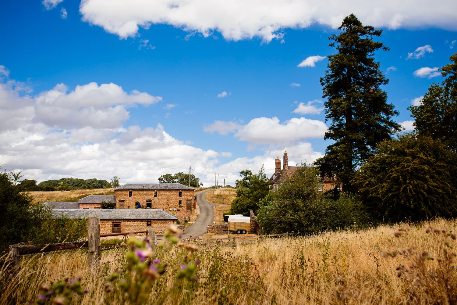 The Granary at Fawsley Wedding venue by chapter one photography