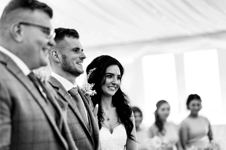 Warwickshires best wedding photographers at fawsley barn wedding