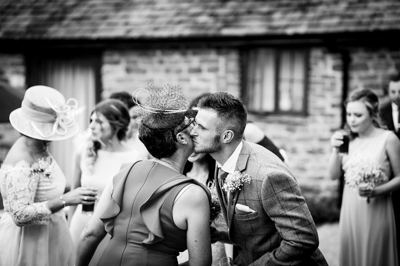 The Granary at Fawsley Wedding hotel hosts a countryside wedding