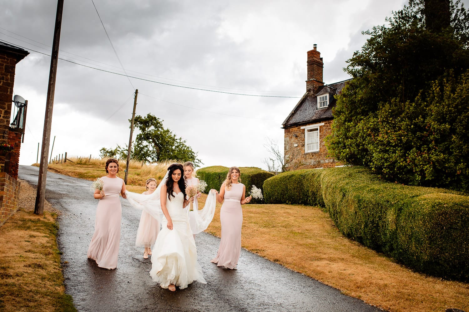 northamptonshire wedding photography at The Granary at Fawsley Wedding hotel
