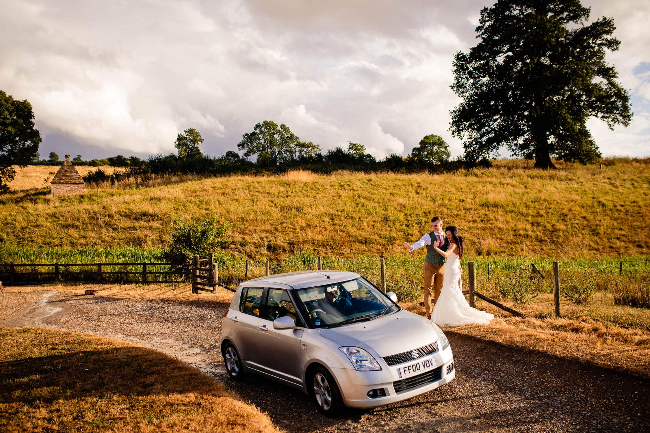 midlands best wedding photographers at The Granary at Fawsley Wedding