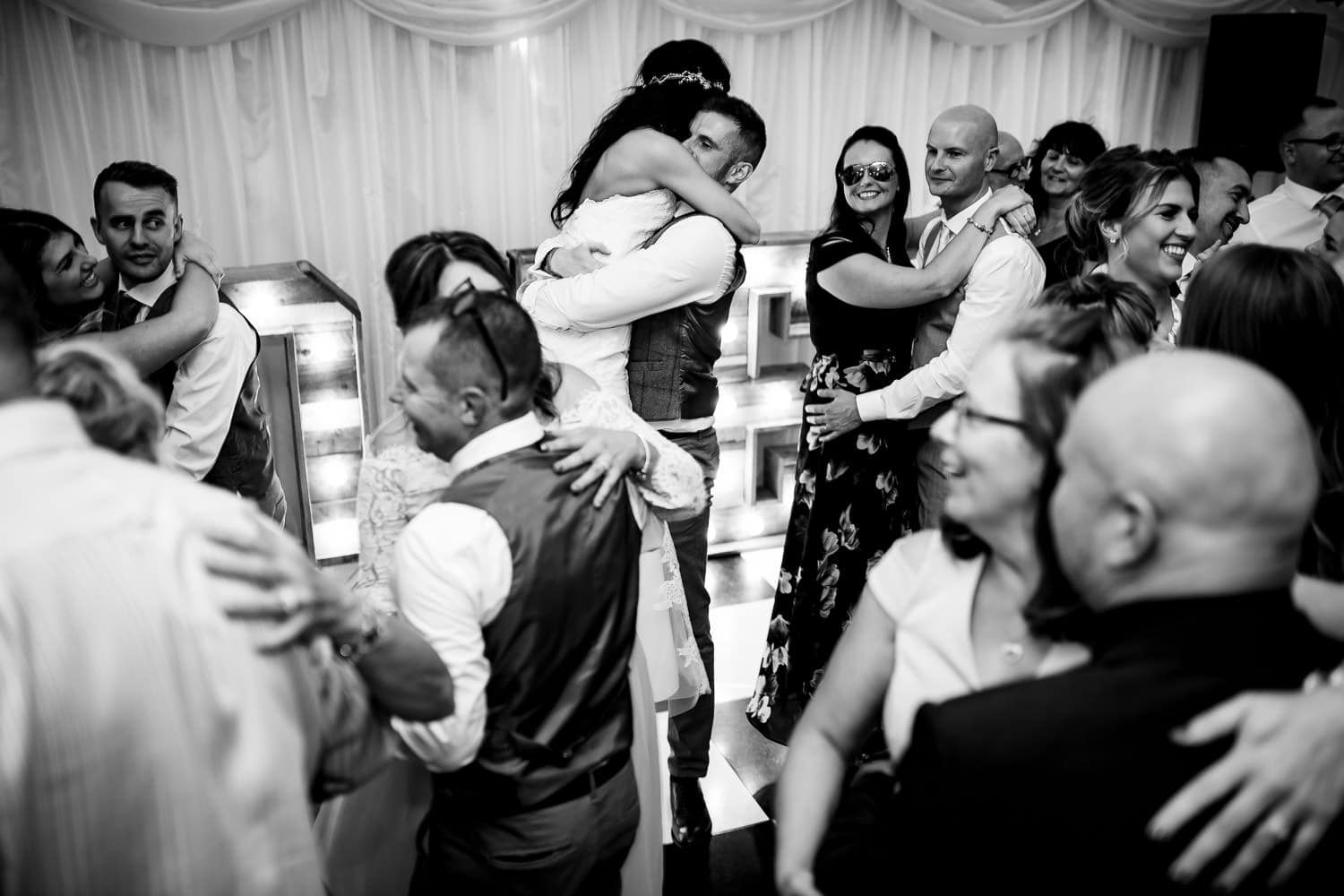The Granary at Fawsley Wedding first dance