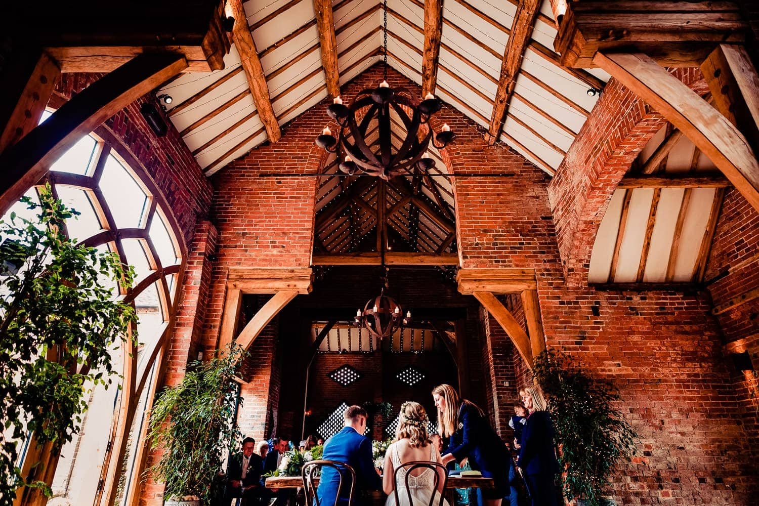 shustoke barn rates high in a list of top midlands wedding venues