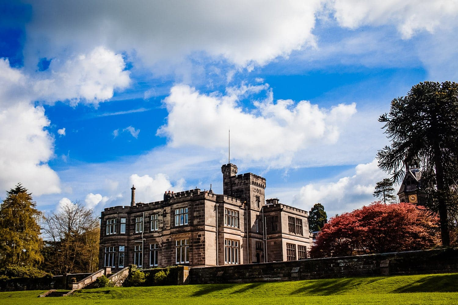 Hampton Manor rates high in a list of top midlands wedding venues